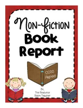 Non fiction book report forms